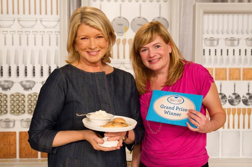 Christina Verrelli Takes Home Cooking From the Kitchen to the Pillsbury Bake-off to Prime Time on Food Network.