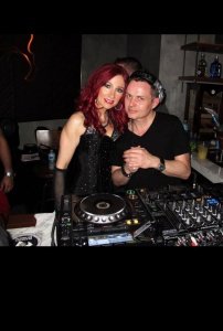 Jade with DJ/Peoducer, Stonebridge at Intercontinental.