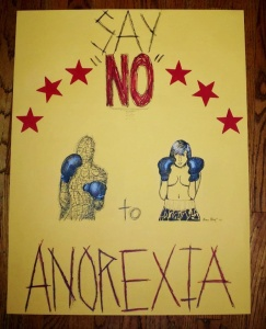 Art Against Anorexia by Grace