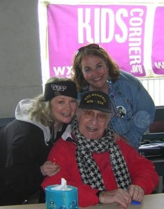 I'm attaching a photo of Soupy Sales, his wife Trudy Carson Sales & Kathy at Ocean City, NJ in 2007 The photo is by Terri Greenberg